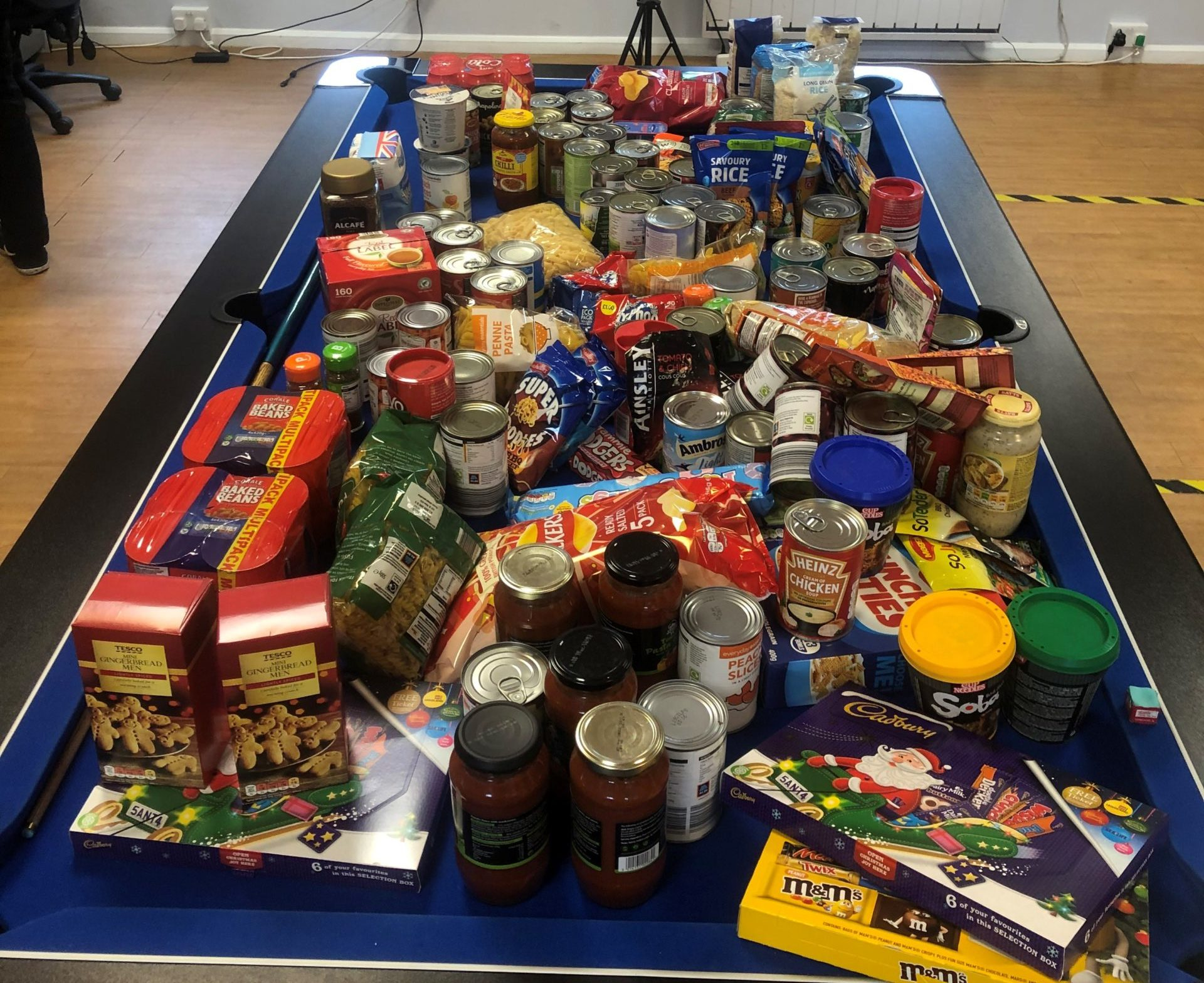 The Booth Centre's Harvest Appeal 2020